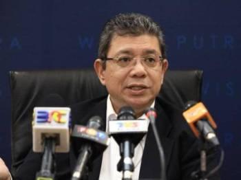 Saifuddin Abdullah -Foto Bernama
