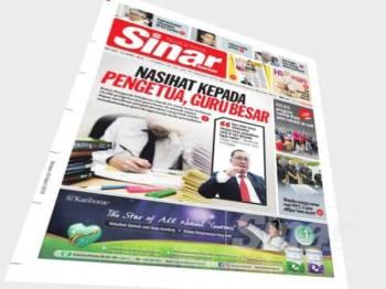Laporan Sinar Harian mengenai beban tugas yang dihadapi guru di negara ini.