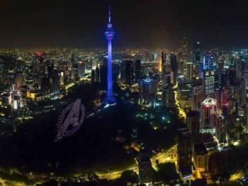 Antara logo yang dipaparkan - Foto WALT DISNEY STUDIOS MALAYSIA