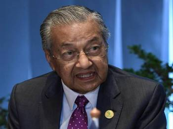 Dr Mahathir Mohamad - Foto Bernama