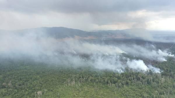 Tiga tompokan kebakaran baharu dikenal pasti