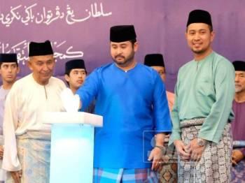Tunku Mahkota Johor, Tunku Ismail Sultan Ibrahim berkenan merasmikan program berkenaan.