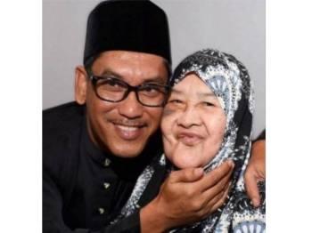 Tinggal kenangan... Allahyarhamah Datin Zaliha meninggal dunia kerana sakit tua di Kampung Sungai Rokam, semalam.