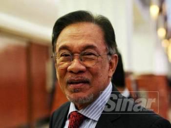 Anwar Ibrahim - FOTO ZAHID IZZANI