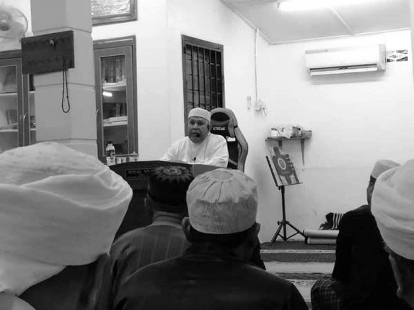 Ceramah terakhir Abu Hassan Din di Surau An-Nur Fasa 3A, Bandar Seremban Selatan, Negeri Sembilan malam kelmarin.
