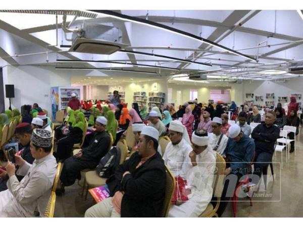 Peserta yang hadir pada Majlis UNIRAZAK #QuranHour di UNIRAZAK Kuala Lumpur, kelmarin.