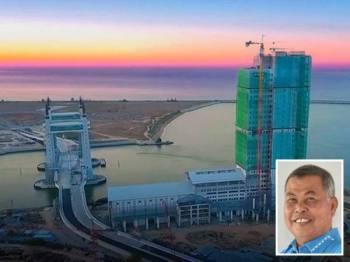 Menara Darul Iman yang kini dalam proses pembinaan sebelum ini mengikut perancangan asal adalah Menara Bandaraya Kuala Terengganu. - Facebook Ahmad Said
