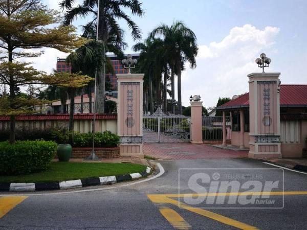 Tapak Kediaman Rasmi Menteri Besar Perak yang lama masih belum dibangunkan oleh mana-mana pihak kerana kerajaan masih perlu meneliti beberapa cadangan.