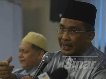 Setiausaha Agung Pas, Datuk Takiyuddin Hassan. - FOTO Sharifuddin Abdul Rahim