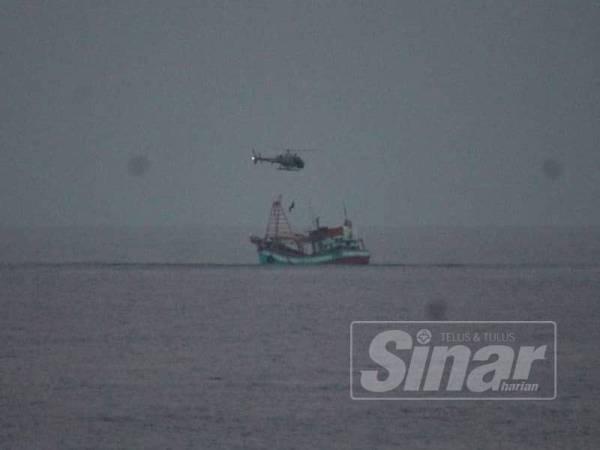 Modus operandi digunakan nelayan asing berjaya dihidu pihak berkuasa.