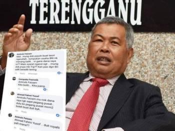Persoalan yang diajukan mengenai Dana Raya 2019 Terengganu di mana syarat melibatkan pendapatan isi rumah sebanyak RM1,100 disifatkan agak ketat berbanding sebelum ini.