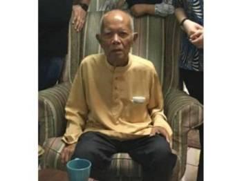 Baju terakhir dipakai Ramli sebelum dilaporkan hilang, Isnin minggu lepas di rumah anaknya di Damansara.