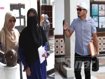 Abu Sufyan hadir ke Mahkamah Rendah Syariah Klang bagi prosiding kes cerai beliau dengan Ain 'Afini. - Foto Sinar Harian ASRIL ASWANDI SHUKOR