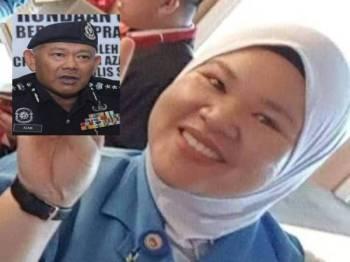 Kehilangan Siti Kharina masih menjadi tanya-tanya. Gambar kecil: Noor Azam