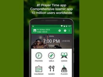Muslim Pro merupakan aplikasi mudah alih terbesar di dunia untuk umat Islam.