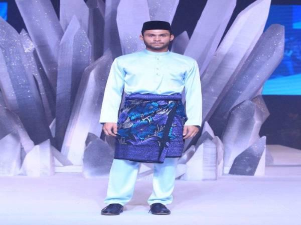 Baju Melayu Powder Blue