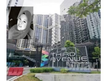 Polis tidak mengetahui mengenai kewujudan rumah sewa yang didiami Ketua Jururawat Hospital Serdang, Siti Kharina Mohd Kamarudin.