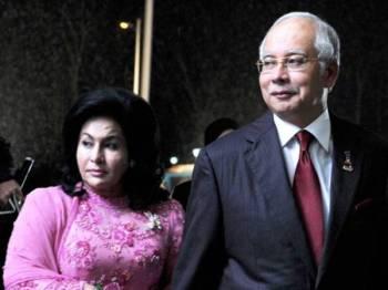 Rosmah Mansor dan Najib Tun Razak
