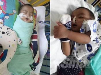 Alif ditahan di wad kali kedua April lalu selepas diserang jangkitan virus.