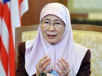 Wan Azizah Wan Ismail. - Foto Bernama