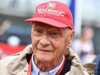 Niki Lauda meninggal dunia pada usia 70 tahun. - FOTO AFP