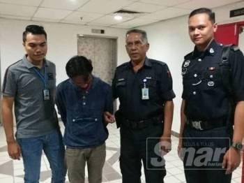 Mohd Hafiz dihukum lima tahun penjara dan dikenakan satu sebatan selepas mengaku salah mengulangi kesalahan menyalahgunakan dadah buat kali ketiga.