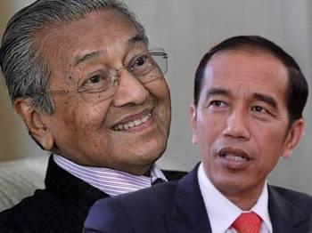 Tun Mahathir dan Jokowi