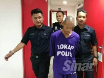 Tertuduh dihukum penjara 26 tahun dan 10 sebatan di Mahkamah Sesyen Kuala Terengganu hari ini kerana merogol anak saudaranya berusia 19 tahun.