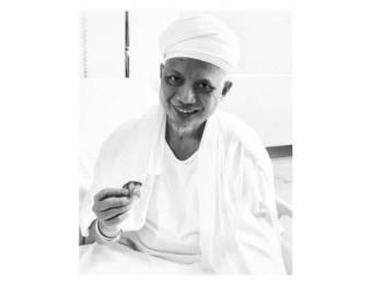 Gambar Allayarham dari akaun Instagram anaknya, Alvin Faiz.