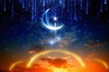 Antara tanda malam Lailatulqadar adalah disebutkan bahawa bulan terbit seperti potongan bekas simpanan air, suasana sangat tenang, nyaman dan tenteram, tidak panas serta tidak sejuk. -GAMBAR HIASAN.