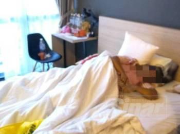 Mangsa yang berasal dari Jalan Kebun Nyior itu telah tinggal di hotel tersebut sendirian sejak tujuh bulan lalu.