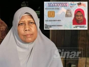 Mak Dak yang tinggal di rumah pusaka ibunya bersama adik, Salmah 55 hanya menumpang kasih daripada 78 anak saudara.