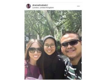 Paparan Instagram Dr Amalina,