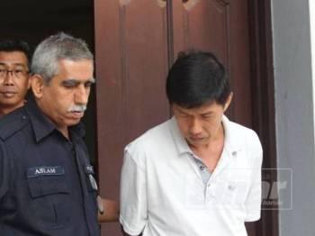 Che Ming mengaku tidak bersalah di Mahkamah Sesyen Ipoh hari ini atas pertuduhan memberi suapan RM5,000 kepada pegawai polis.