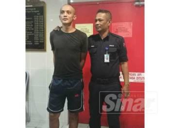 Tertuduh, Wan Mohd Fadillah dihukum enam bulan penjara di Mahkamah Majistret Kuala Terengganu hari ini kerana mengaku salah mengugut mahu membunuh adik iparnya.