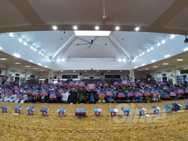 Lebih 500 peserta menyertai World #QuranHour peringkat Pulau Pinang.