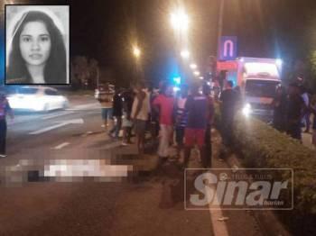 Leik Fong mengalami cedera parah di kepala dan meninggal dunia di tempat kejadian.