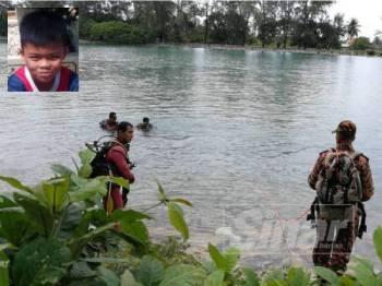 Bomba melakukan operasi mencari dan menyelamat. Gambar kecil: Muhammad Aidil