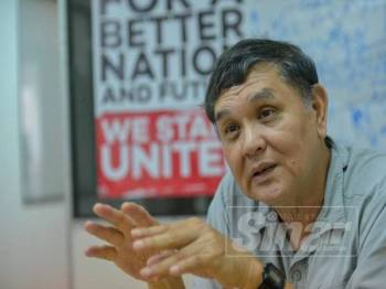 Temubual Eksklusif Sinar Harian bersama Ahmad Ghazali di Bangunan Persatuan Patriot Kebangsaan USJ.