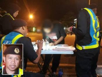 Remaja berusia 15 tahun tersebut disaman mengikut Seksyen 39 Akta Pengangkutan Jalan 1987 kerana memandu di bawah umur. (Gambar kecil: Ismasuhaimi)