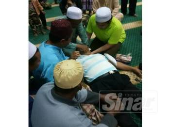 Fadzil disahkan meninggal dunia selepas menunaikan solat Maghrib, semalam.
