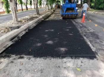 Tenaga Nasional Berhad (TNB) mengambil tindakan segera dengan menurap semula jalan di Seksyen 16 yang dikorek untuk kerja menanam kabel 132KV.