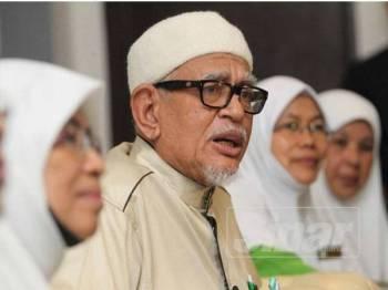 Sidang media Muktamar Dewan Muslimat Pas Malaysia, di Bukit Gambang Resort City, hari ini.
