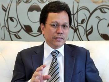 Mohd Shafie Apdal.