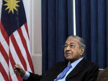 Tun Mahathir - FOTO BERNAMA