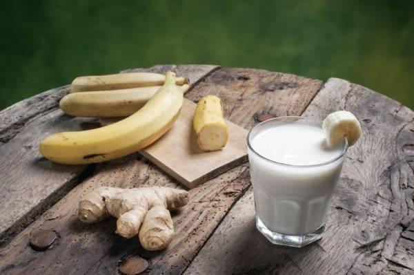 Campuran susu dan halia berupaya membuang angin dalam badan anda.