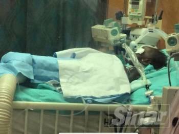 Nasri meninggal dunia selepas lapan hari dirawat di ICU HRPZ II.