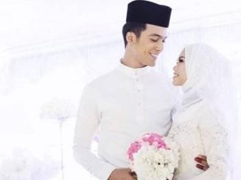 Gambar perkahwinan Aliff Aziz dan Bella. Foto: INSTAGRAM