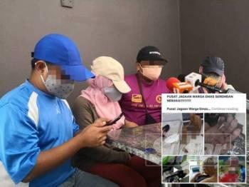 Pendedahan oleh empat bekas pekerja Pusat Jagaan Warga Emas dan Terapi Fitrah. (Gambar kecil: Berita tular mengenai 'Pusat Jagaan Warga Emas Seremban Neraka' di laman sosial sejak semalam.)