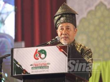 Tuan Ibrahim Tuan Man - FOTO ASRIL ASWANDI SHUKOR